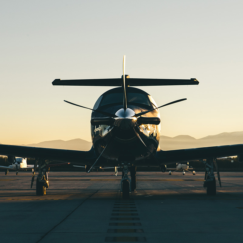 Pilatus PC-12 aircraft